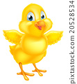 Cute Easter Chick 20528534