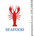 lobster seafood menu background 20528898