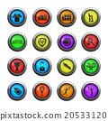 Tennis simply icons 20533120