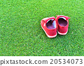 Little red shoes 20534073