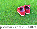 Little red shoes 20534074