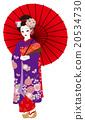 歌舞伎 日式服装 女性 20534730
