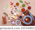 Assortment of Thai food Cooking ingredients . 20540863