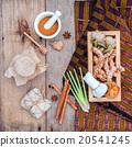 herbal  Ingredients  for alternative medicine. 20541245