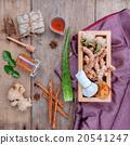 herbal  Ingredients  for alternative medicine. 20541247