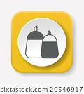 sauce bottle icon 20546917