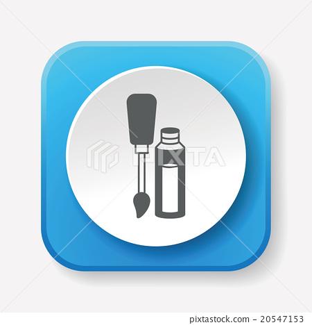 Nail polish icon 20547153