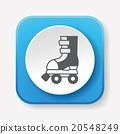 roller skate icon 20548249