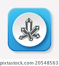 crystal icon 20548563