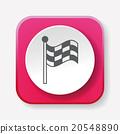 Racing flag icon 20548890