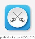 Fencing icon 20550215
