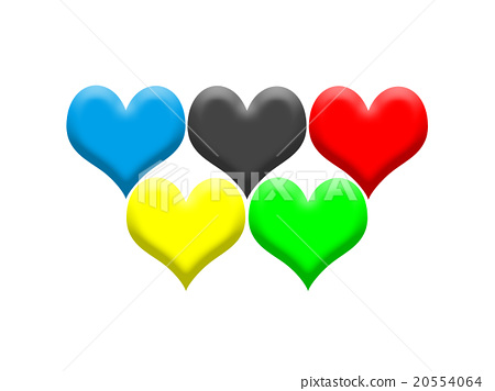Olympic Games Olympic's color-like heart 20554064