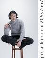 工作室 毛衣 時髦 20557667