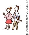 夫妇 一对 情侣 20558287