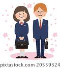 學生 櫻花 櫻 20559324