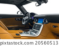Car interior sports steering sheel anddashboard 20560513