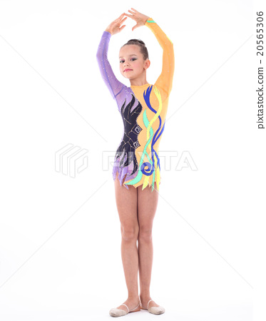 Beautiful flexible girl gymnast 20565306
