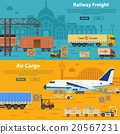Railway Freight and Air Cargo 20567231