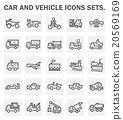 Car Icons 20569169