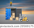 Forklift container 20569175
