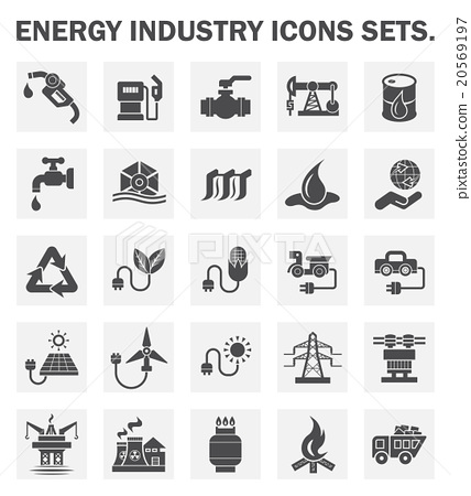 Oil icons 20569197