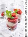 strawberry dessert 20585563