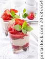 strawberry dessert 20585564