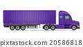 卡车 货物 半 20586818