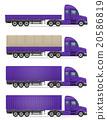 卡车 货物 半 20586819