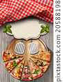 Pizza - Rustic Menu Design 20588198