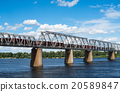 bridge, railroad, train 20589847