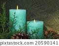 christmas candles 20590141