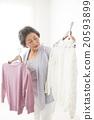 女性 裙子 服装 20593899