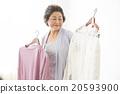 女性 裙子 服装 20593900