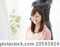 女性 做頭髮 人類 20593924