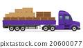 卡车 货物 半 20600077