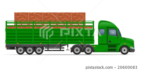 truck semi trailer delivery and transportation 20600083