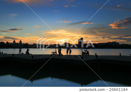 台灣高雄左營蓮池潭Asia Taiwan Kaohsiung Lake 20601184