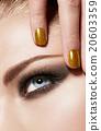 化妝 眼妝 美女 20603359