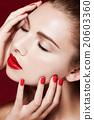 歐洲人 化妝 化妝品 20603360