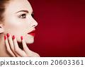 歐洲人 化妝 化妝品 20603361