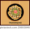 Japanese Pizza Okonomiyaki 20603846