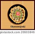 Japanese Pizza Okonomiyaki 20603846