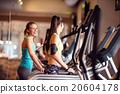 woman, gym, workout 20604178