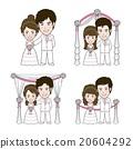 Wedding Illustration 20604292