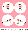Woman Fitness Vector 20604350