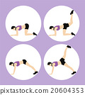 Woman Fitness Vector 20604353