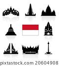 Indonesia Travel Icons. 20604908