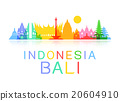 Indonesia Travel Landmarks. 20604910