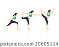Yoga Poses 20605114